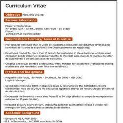 Curriculum Ja Preenchido Avare Guia Avare Guia Oficial Da
