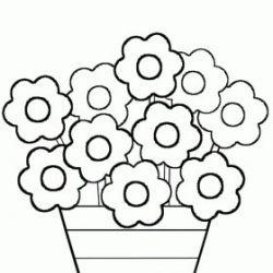Flores Para Colorir Flores Imagenes