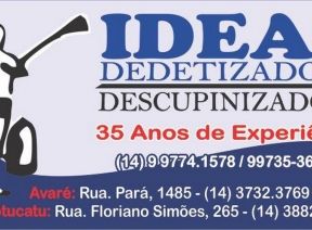 Ideal Dedetizadora Avaré