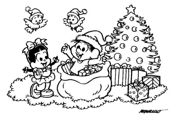 Para Colorir Natal Turma Da Monica Avare Guia Avare Guia
