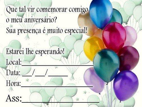 Convites Virtuais De Aniversário Grátis Avaré Guia Avaré Guia