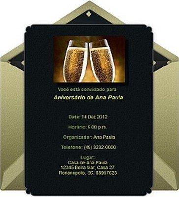 Convites Online Grátis Aniversário Avaré Guia Avaré Guia