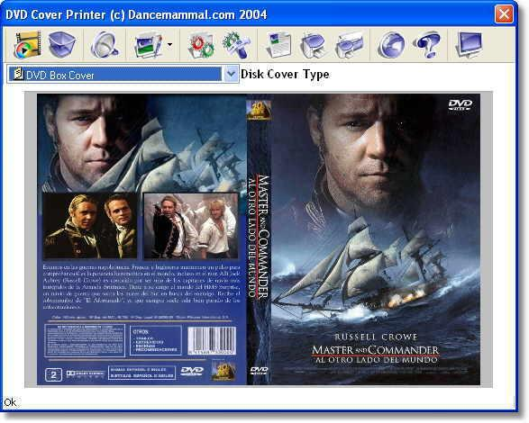 Como Imprimir capa de DVD cover printer