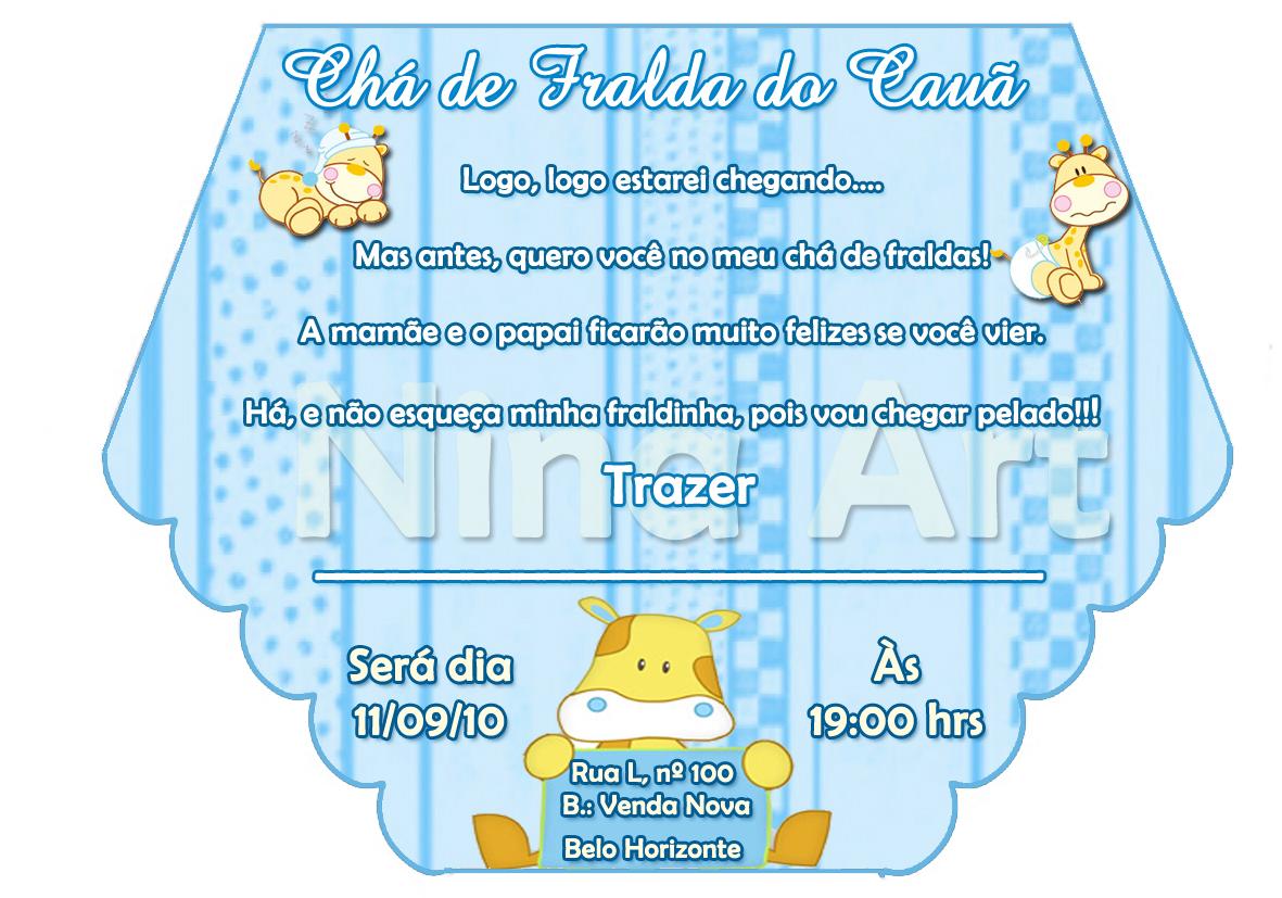 Convite Para Cha Fralda Avare Guia Avare Guia Oficial Da
