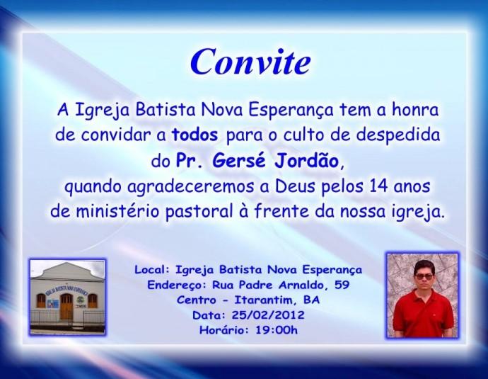 Amado CONVITES EVANGÉLICOS :: Avaré - Guia Avaré Guia Oficial da Cidade  PY95
