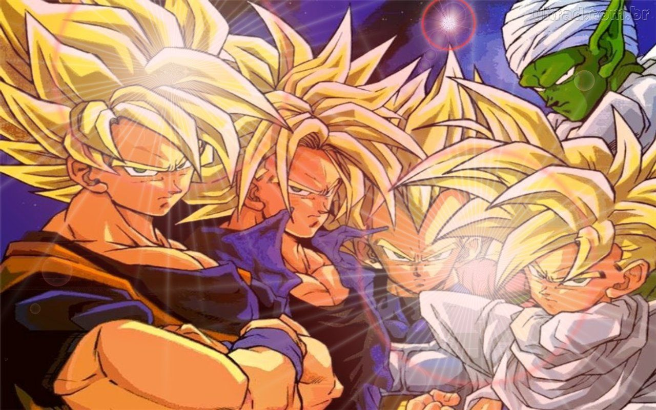 Dragon Ball Z imagens e fotos de Dragon Ball Z wallpaper concentrando seu KI