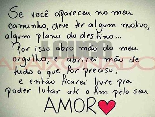 Frases romanticas Amor