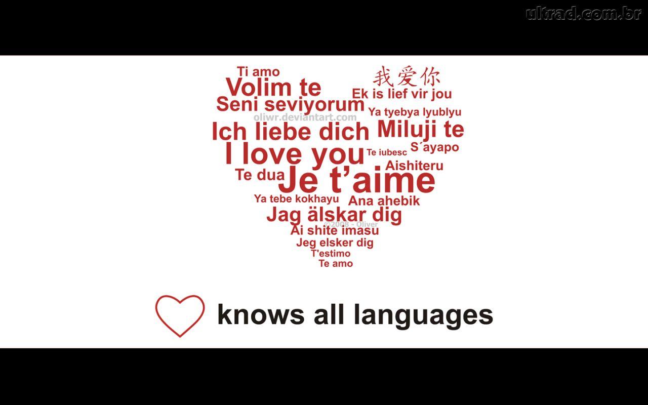 Imagens de amor com frases para baixar coração te amo em várias línguas 9f2892336332c
