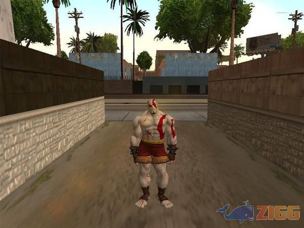 Jogos GTA God of War