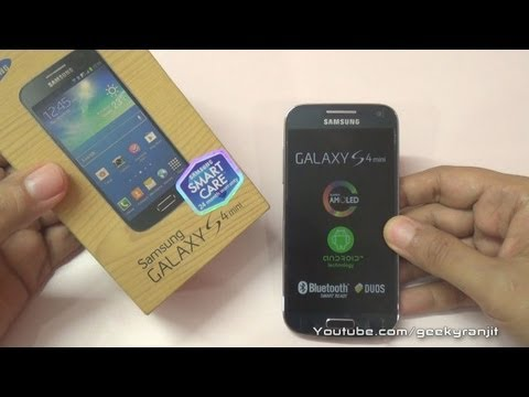 Samsung Galaxy S4 mini duos smart care